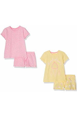 Mothercare Girl's Ice Cream and Sprinkles Shortie Pyjamas – 2 Pack Sets