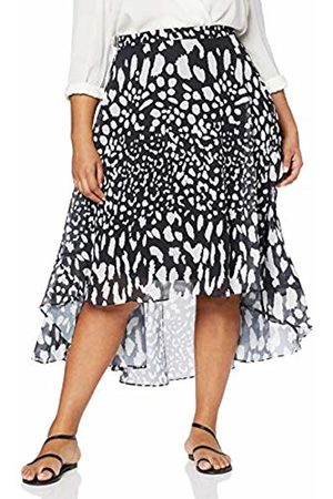Lost Ink Women's Skirt with Animal Print (Mono 0092)