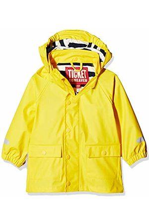 Ticket to Heaven Baby Boys Pu Regenjacke M. Abnehmbarer Kapuze Waterproof Jacket|