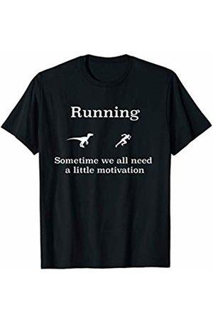 funny t-shirt workouts Running motivation workout T-Shirt