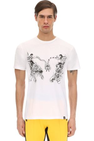 DIM MAK COLLECTION Men T-shirts - Lvr Edition Cotton T-shirt By Kimjung Gi