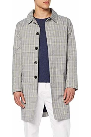 FIND FIND Men's Check Trench Coat