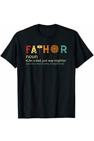 MMN Father's Day Shirts Gift Fa-Thor Like Dad Just Way Mightier funny father's day shirt
