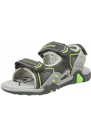 Dockers Unisex Kids' 44em601-637202 Closed Toe Sandals (Grau/Multi 202) 1 UK