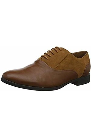 New Look Men's Formal Mix Material Brogues