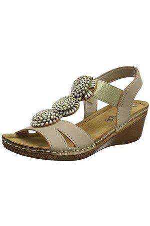 Lotus Women's Saphira Open Toe Sandals, ( Charcoal)