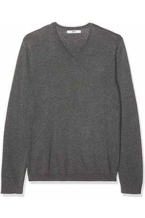 FIND FIND Men's Jumper in Cotton Knitted V-Neck