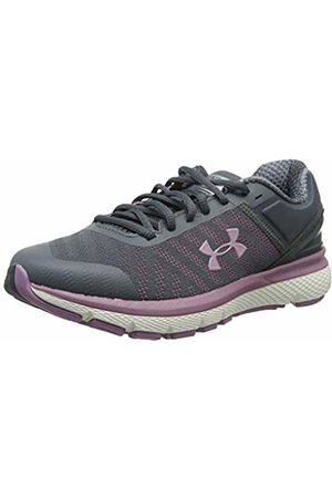 Under Armour Women's Charged Europa 2 Running Shoes, (Pitch Gray Prime 100)