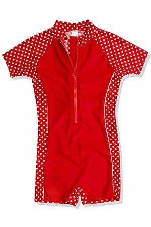 Playshoes Girl's Uv-Schutz Einteiler Punkte Swimsuit