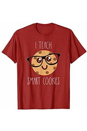 Cookies Get Dunked Tees Co Cute I Teach Smart Cookies wearing glasses