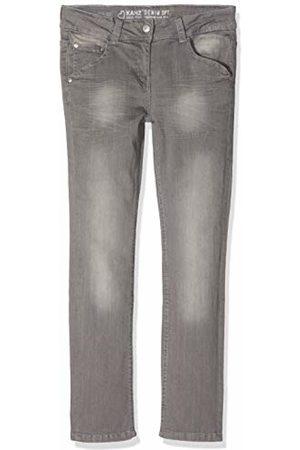Kanz Girls' Hose Jeans Grau ( Denim|