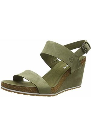Timberland Women's Capri Sunset Wedge Ankle Strap Sandals