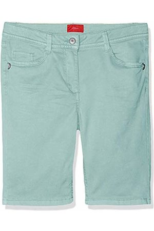 s.Oliver Girl's 66.904.74.5959 Bermudas Turquoise (Mint 6117) 146 (Size: 146/SLIM)