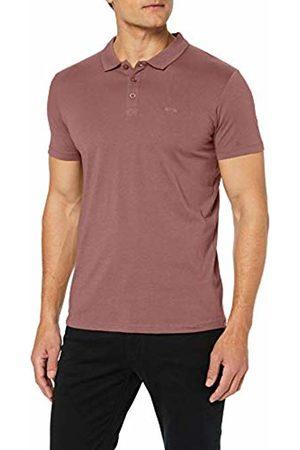 Esprit Men's 039cc2k025 Polo Shirt (Dark Mauve 540) Medium