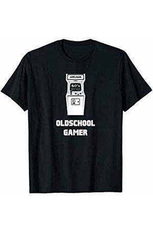 Video Arcade Machine T-Shirt Video Gamer T-Shirt Oldschool Retro Controller 80er E-Sport