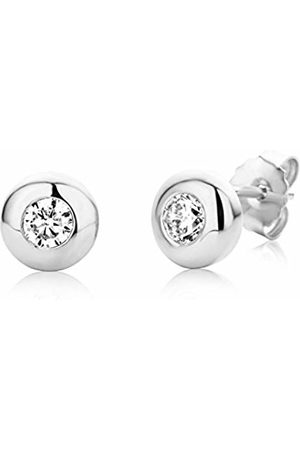 Miore Earrings Women studs Solitaire Zirconia 925 Sterling