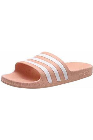 adidas Unisex Adults' Adilette Aqua Beach & Pool Shoes, Rosa FTWR /Dust