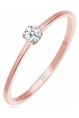 DIAMORE Women's 925 Sterling Solitaire Anniversary Ring R 0612940617_58