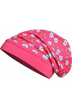Playshoes Girl's Beanie Blumen mit UV-Schutz Hat