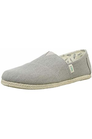 Paez Men's Classic Essential Grey Espadrilles