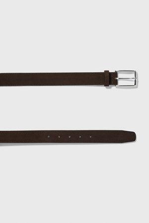 Zara Split suede belt