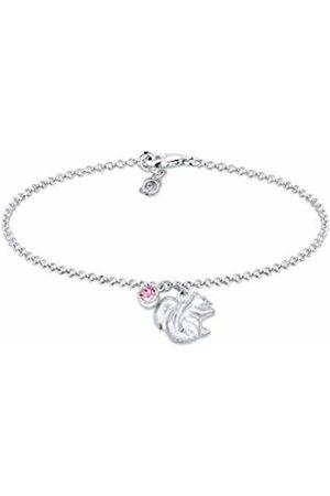 Elli Women's 925 Sterling Link Bracelet 0211870817_16 - 16cm length