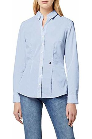 Seidensticker Women's City-Bluse 1/1-lang Slim Fit Classic Long Sleeve Blouse - Multicolour - 18