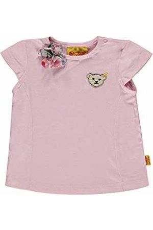 Steiff Baby Girls' T-Shirt Flügelarm Barely |Rose 2560