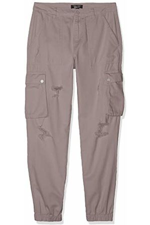 New Look 915 Girl's Jackie Ripped Cargo Trousers, (Dark 3)