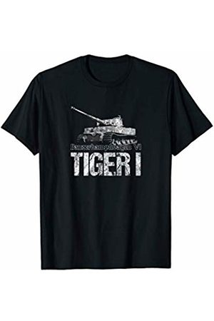 German Tanks Shirts & Gifts Men Tank Tops - Panzer Tiger 1 Tank T-Shirt I Military Vehicle Gift Idea