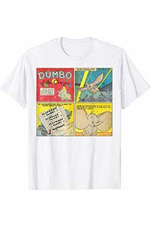 Disney Dumbo Vintage Distressed Comic Strip T-Shirt