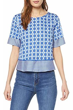 Gerry Weber Womens 160052-31595 Regular Fit Short Sleeve Blouse - Multicolour - 18