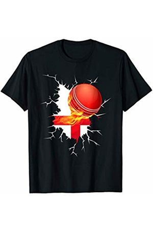 International Cricket Fan Tees England Cricket T-Shirt : English 2019 National Fans Jersey
