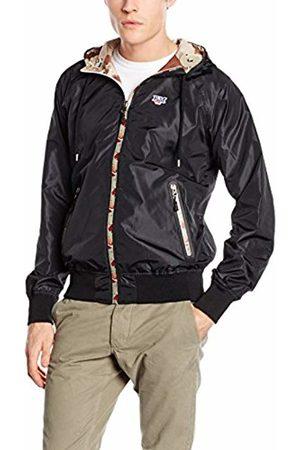 Franklin & Marshall Men's Uni Zip Hooded Jacket Large