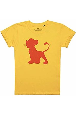 Disney Girl's Simba Silhouette T-Shirt