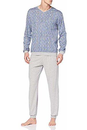 Trigema Men's 637762119s Pyjama Set (Grau-Melange 110) X-Large