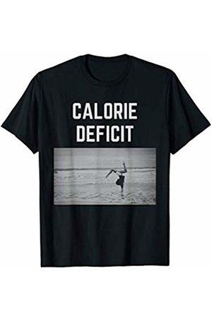 Calorie deficit tshirt co. Calorie dificit Gym health fitness novelty tshirt