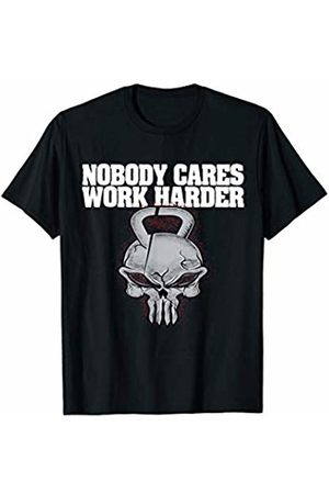 Nobody Cares Gym Workout Shirt Nobody Cares Work Harder Fitness Workout Gym Motivation Gift T-Shirt