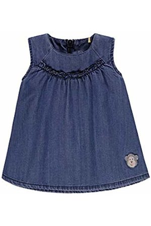 Bellybutton mother nature & me Baby Girls' Kleid Jeans Ohne Arm Dress, Denim| 0013