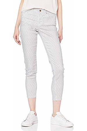 Springfield Women Slim & Skinny Trousers - Women's 7.t.ap.Slim Crop Rayas Trouser