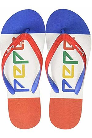 Pepe Jeans Boys' Beach Colors Flip Flops 4 4 UK