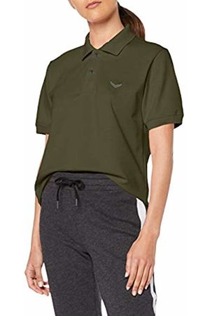 Trigema Women's 527601 Polo Shirt (Khaki 155) Small