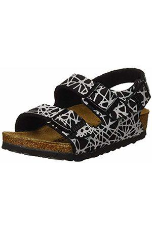 Birkenstock Boys' Milano Sling Back Sandals, Reflective Lines