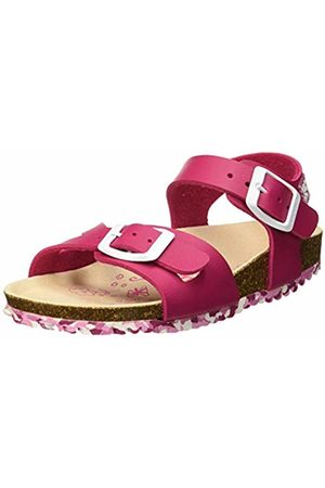 Garvalin Girls' 192663 Open Toe Sandals (Fucsia (Champion) Paprika) 10 UK