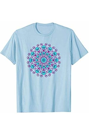 SPIRITUAL SIGNS AND SYMBOLS by yuma Lotus Flower Mandala Yoga Meditation Awareness Zen T-shirt