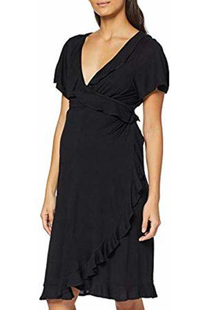 Supermom Women's Dress Ss Wrap Nurs Dress Not Applicable
