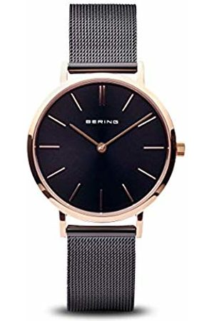 Bering Womens Analogue Quartz Watch with Stainless Steel Strap 14134-166