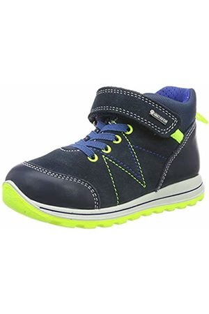 Primigi Baby Boys' Gore-tex Ptigt 33720 Low-Top Sneakers, Navy/Avio 3372022