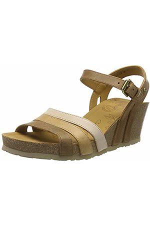 Panama Jack Women's Vita Basics Ankle Strap Sandals (Cuero B2) 4 UK