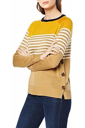 warehouse Women's Button Side Stripe Jumper